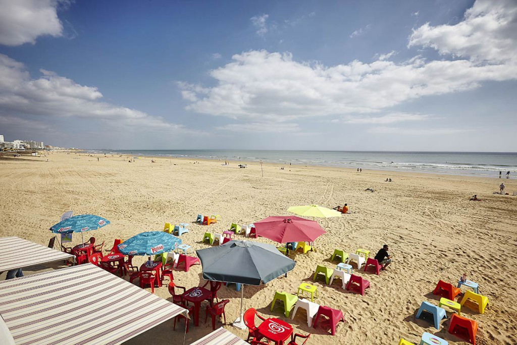 beaches and forests cing jean de monts la yole