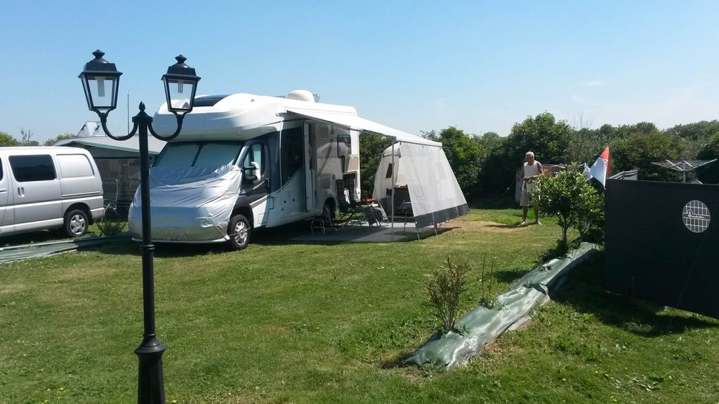 Emplacement camping camping-car