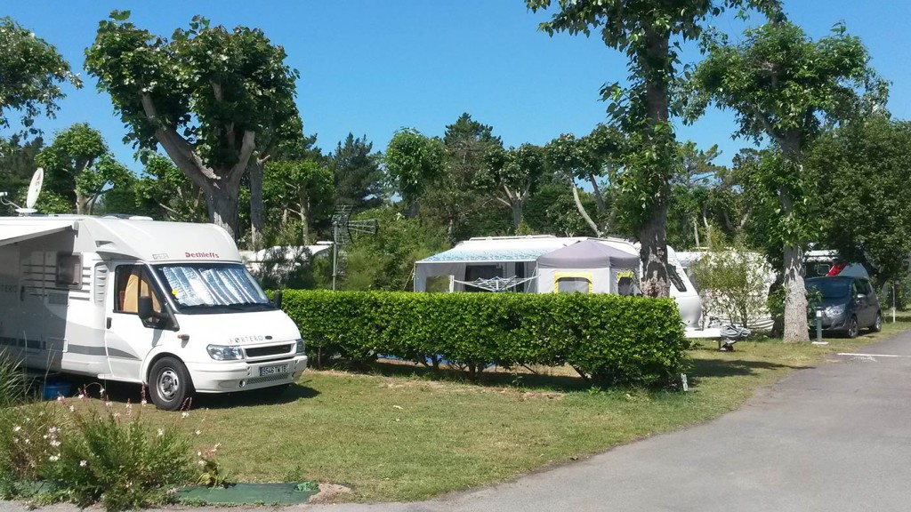 Emplacement camping divers