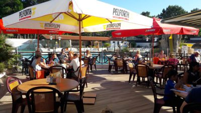 les services du camping - terrasse bar snack