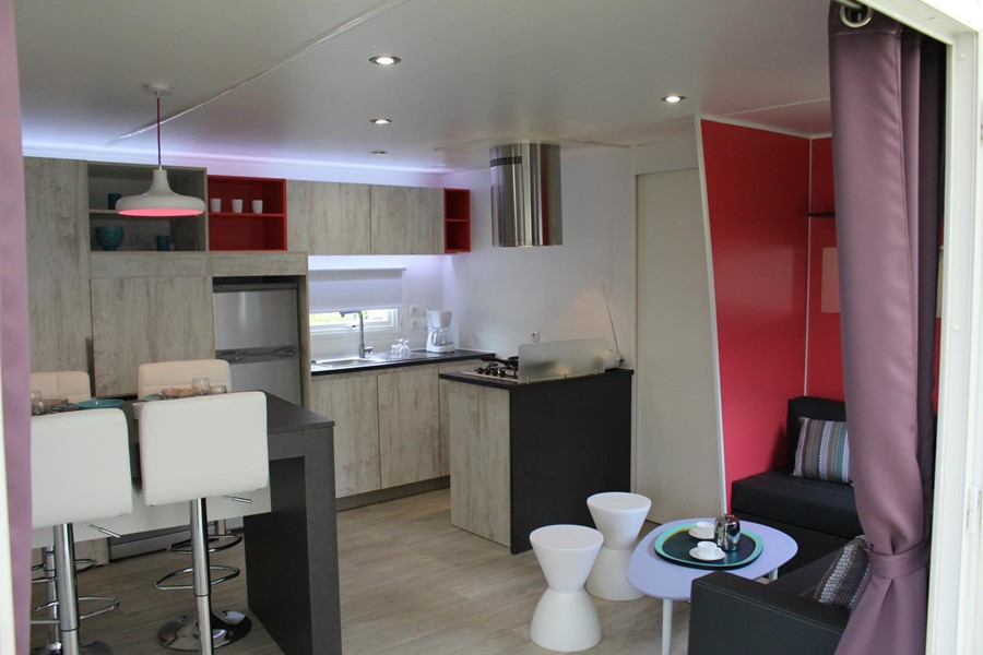 location mobil home moderne en vendée